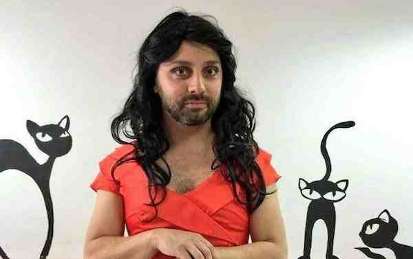 Eurovision Open Caption: Why is Ovi dressed as Conchita Wurst?