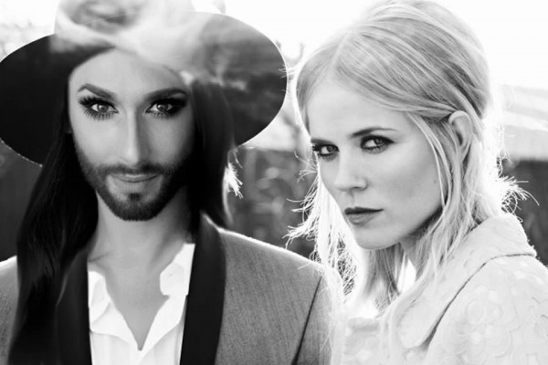 Eurovision Open Caption: Conchita replaces Waylon in The Common Linnets?