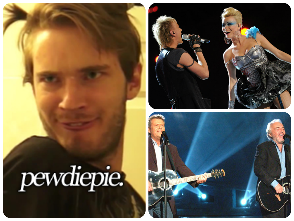 You Decide: Is YouTube Gaming Star PewDiePie a Fan of Eurovision?