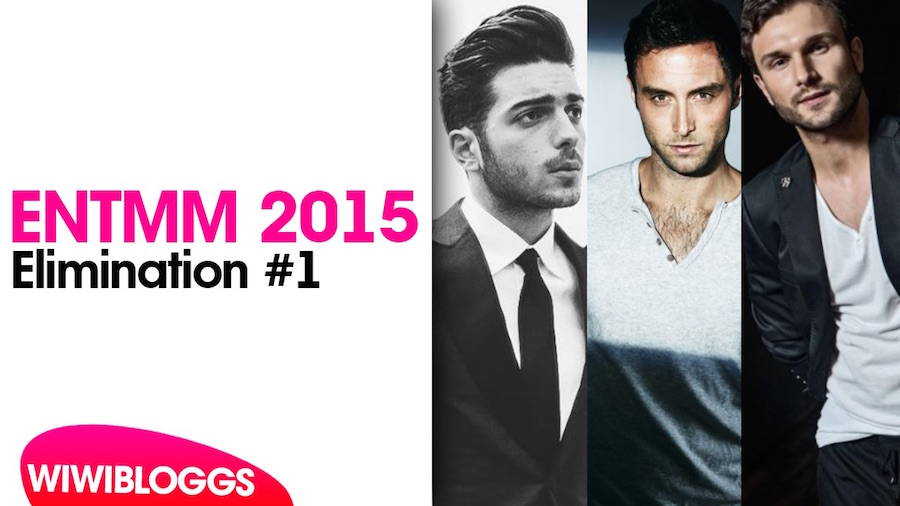 Eurovision's Next Top Male Model 2015: Elimination #1