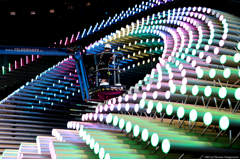 Eurovision 2015: Stage boasts hanging cameras, kinetic sculpture and LED floors