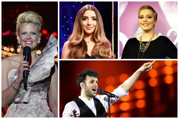 Six Eurovision 2016 spokespeople announced so far, including Sebalter and Gina Dirawi