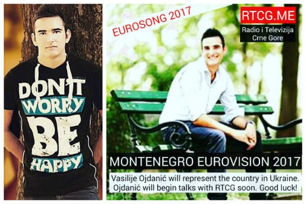 Montenegro: Will Vasilije Ojdanic represent his country at Eurovision 2017?