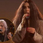 "Loreen covers ""Up Where We Belong"" with Linnea Olsson at Together Against Cancer gala"