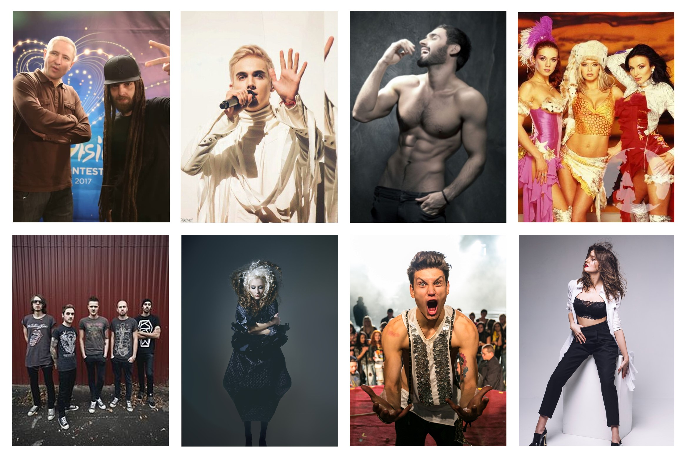 Poll: Who should qualify from Semi-Final 3 of Ukraine's Vidbir 2017?