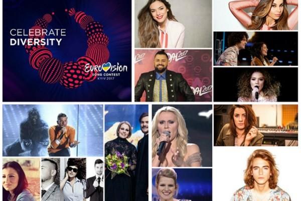 favourite eurovision 2017 act top 13