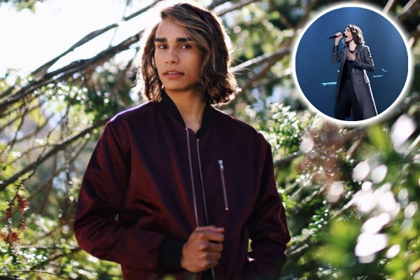 Streets of gold: Isaiah Firebrace includes Eurovision 2017 footage in latest music video