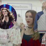 Not dancing alone! Jana Burceska gives birth to baby girl Dona