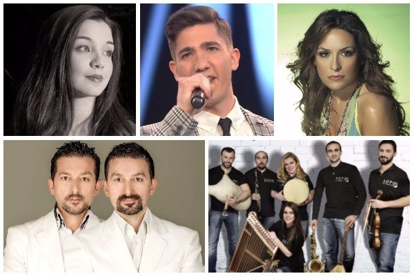 Greece: Media names the five acts selected for the Greek national final