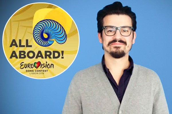 Eurovision 2018 Theme Luis figueiredo All Aboard Portugal