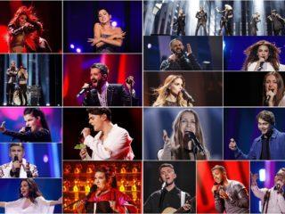 semi-final one second rehearsal poll eurovision 2018