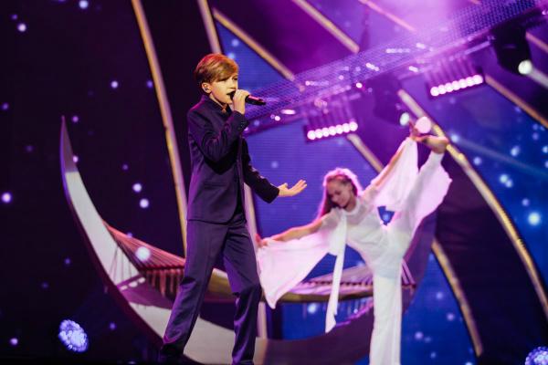 Mikhail Smirnov Russia Junior Eurovision 2015