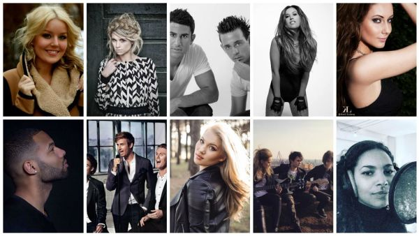 Dansk Melodi Grand Prix 2016 Finalists