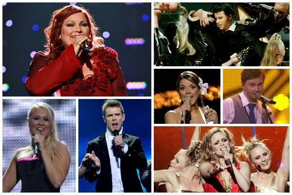Iceland Eurovision Singers At Söngkeppni Framhaldsskólanna
