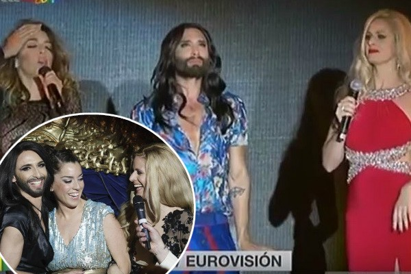 Conchita Wurst Ruth Lorenzo Suzy Guerra World Pride 2017