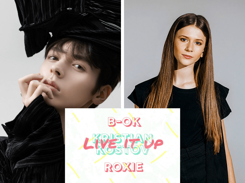 """Golden duo: Kristian Kostov and Roxie feature on B-OK's new song """"Live It Up"""""""