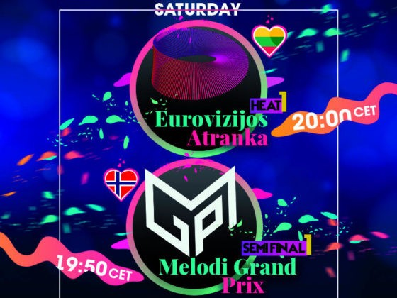 Saturday 11 January Eurovision Selection Shows Norway Lithuania