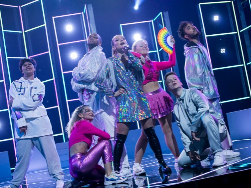Norway Liza Vassilieva Wins Semi Final Five Of Melodi Grand Prix 2020 With I Am Gay Wiwibloggs