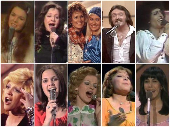 Eurovision winners 1970s