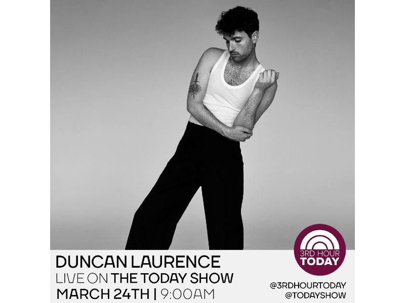 Duncan Laurence Today Show