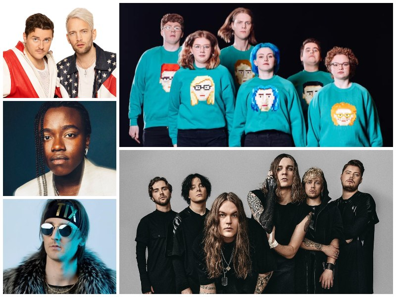 Eurovision 2021 Nordic Acts