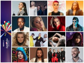 Eurovision 2021 Semi Final One Songs