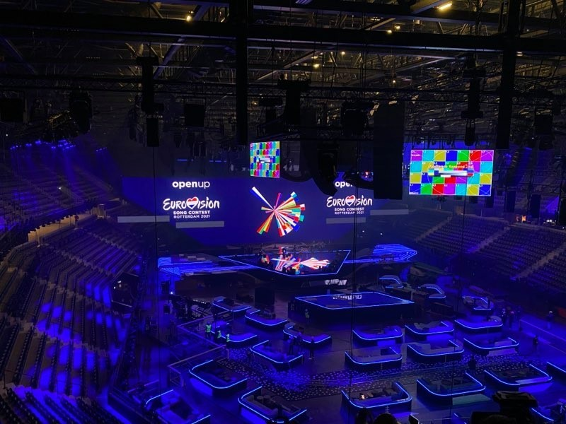 Eurovision 2021 stage first look