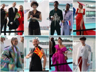 Poll: Who was best dressed on the Eurovision 2021 Moroccanoil Turquoise Carpet?