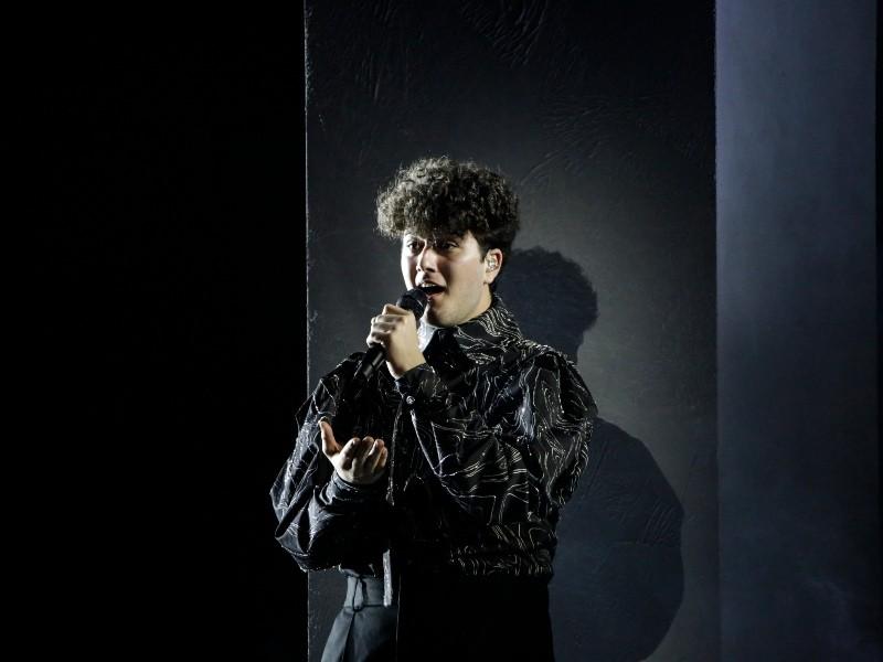 Switzerland Gjon's Tears First Rehearsal Eurovision 2021